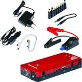 Einhell CC-JS 12 Energiestation / Powerbank / Starthulp - Lader (input): 100 - 240 V / 50-60 Hz - Lader (output): 15 V / 1000 mAh - Inclusief accessoires