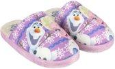 Roze Frozen pantoffels voor meisjes 26-27