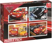 Disney Cars3 4in1 Puzzle Pack