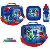 PJ Masks lunchbox en drinkfles incl. draagtas met opdruk