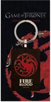 GAME OF THRONES - Metal Keychain - Targaryen