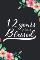 Blessed 12th Birthday Journal
