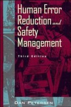 Human Error Reduction and Safety Management