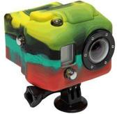 Xsories Hooded Silicone Cover voor GoPro Hero3 - Rasta
