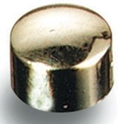 Magneten 10 mm - goud metallic x 8