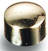 Maped magneten op blister diameter 10 mm 8 stuks verguld
