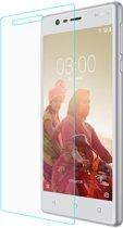Shop4 - Nokia 3 Glazen Screenprotector - Gehard Glas Transparant