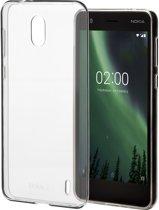 Nokia back case - transparant - voor Nokia 2