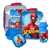 SPIDER-MAN Lunch Set Lunchtas met Drinkbeker + Broodtrommel Spiderman