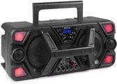 Bluetooth karaoke speaker 200W - Fenton MDJ140 met ingebouwde accu en microfoon