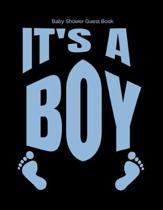 Baby Shower Guest Book It's A Boy