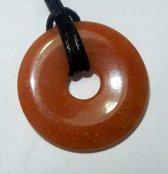 Aventurijn Rood Donut Hanger