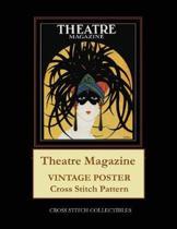Theatre Magazine: Vintage Poster Cross Stitch Pattern