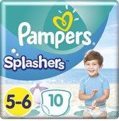 Pampers Splashers Maat 5-6 - 10 Stuks - Wegwerpbare Zwemluiers