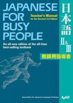 Japanese for busy people 2 & 3 - teacher's manual