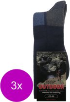Stapp Herensok Outdoor Bruin - Sokken - 3 x 39-42