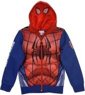spiderman vest blauw maat 104