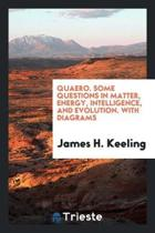 Quaero. Some Questions in Matter, Energy, Intelligence, and Evolution. with Diagrams