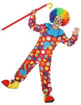 Verkleedkleding voor kinderen - Clown Deluxe - 5-6 jaar