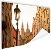 Oude centrum Praag Poster 120x80 cm - Foto print op Poster (wanddecoratie)