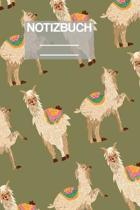 Notizbuch A5 Muster Zeichnung Lama Llama Alpaka: - 111 Seiten - EXTRA Kalender 2020 - Einzigartig - Kariert - Karo - Raster - Geschenk - Geschenkidee