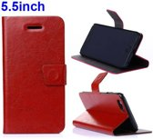 PU Leren Wallet Standaard iPhone 6(s) plus - Bruin