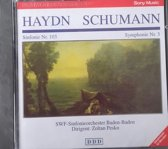 1-CD HAYDN / SCHUMANN - SYMFONIE NO. 103 / SYMFONIE NO. 3 - ZOLTAN PESKO