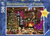Ravensburger puzzel Witte Kerst - legpuzzel - 500 stukjes