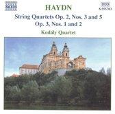 Haydn: String Quartets Op.2