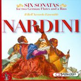 Nardini: Six Sonatas for Two German Flutes and a Bass