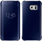 Clear View Cover voor Galaxy S7 Edge – Donker Blauw