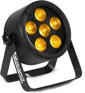 BeamZ BAC302 Aluminium LED PAR met 6x 6-in-1 LED's van 12W