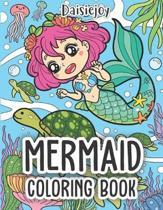 Mermaid Coloring Book: Beautiful Mermaid Coloring Books for Girls - Under The Sea (US VERSION)