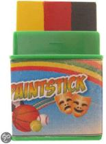 Push-up paint stick mini zwart | rood | geel
