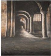 """Walimex pro Achtergrondkleed, motief """"Gothic"""", 3x6 m"""