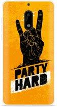 Nokia 6 Hoesje Party Hard 2.0