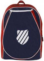 585eec45ebb K-Swiss Ks Tac Backpack Jr Ibiza-Navy/Red Rugzak - Navy/