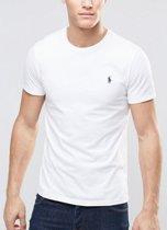 T-Shirt basic short sleeve L white