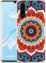 Huawei P30 Pro Hoesje Retro Mandala