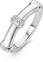 TI SENTO Milano Ring 12050ZI - Maat 58 (18,5 mm) - Gerhodineerd Sterling Zilver