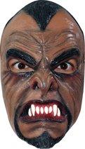 Latex weerwolven masker voor volwassenen - Verkleedmasker