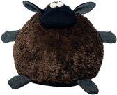 knuffel schaap zwart groot