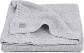 Deken 100x150cm Confetti knit grey