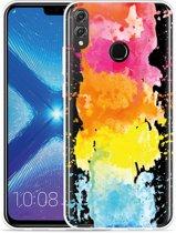 Honor 8X Hoesje Color Splatters