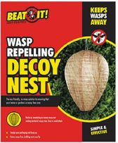 Wespenverjager dummy wespen nest