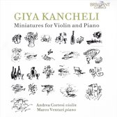 Giya Kancheli: Miniatures For Violi
