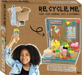 Re-cycle-me knutselpakket IJssalon Playworld