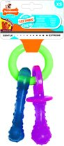 Nylabone Puppy Chew Bijtring Speen / Bot Puppyspeelgoed - TOT 7 KG