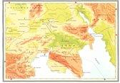 Kaart Atlas van het bijbelse continent - De geboorte van Jezus