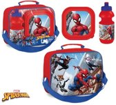 Spiderman lunchset, drinkfles, broodtrommel, tas